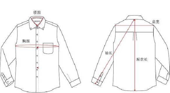 海淘正装衬衣尺码攻略2016最新版