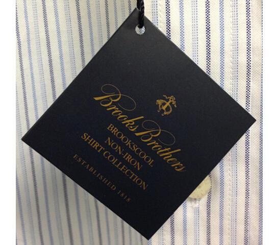 海淘Brooks Brothers衬衫尺码怎么选,尺码表及攻略