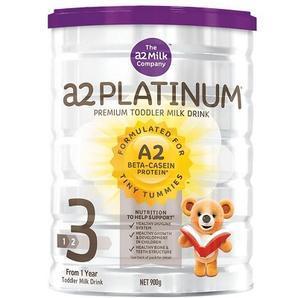 【全场折上8 9折】A2 白金系列3段幼儿配方奶粉 900g 罐(1-3岁)