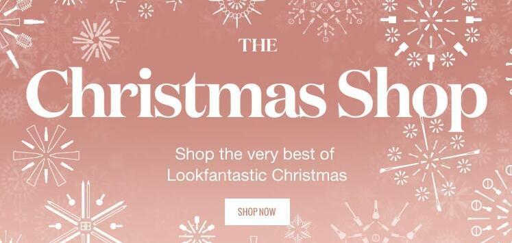 Lookfantastic英国美妆网圣诞礼盒促销 满£40免费直邮中国