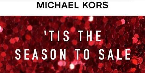 Michael Kors官网圣诞特惠发布 满$250享7.5折