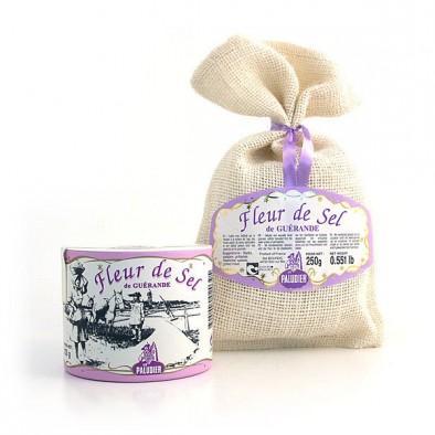 法国盖朗德盐之花(世界十大顶级食材)250g 袋 全场购满50欧享邮费6折优惠