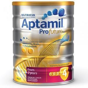 【全场免邮+再减5澳】新补货!Aptamil Profutura 白金版4段婴幼儿奶粉 900g澳洲直邮!
