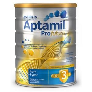 【全场免邮+再减5澳】断货王新补货!Aptamil Profutura 爱他美白金版3段婴幼儿奶粉 900g