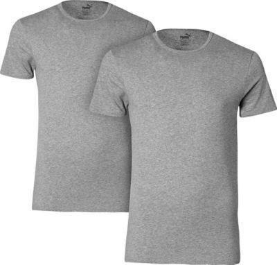 【好价满额免邮】Puma 彪马 汗衫 半袖 2件装 灰色 S号(多重优惠+全额税补)