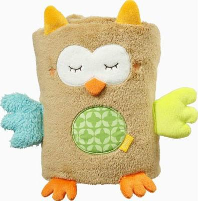 【好价满额免邮】Fehn 婴幼儿安抚盖毯 猫头鹰图案(多重优惠+全额税补)