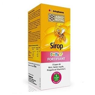 雾霾必备:Arkopharma 艾蔻 儿童纯天然维C糖浆蜂王浆 150ml (增强抵抗力)