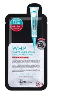 【美迪惠尔圣诞返场 】 W H P美白保湿黑炭面膜 10片装低至¥64 盒(包邮)