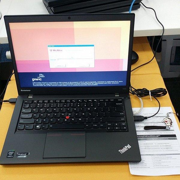 lenovo 联想thinkpad T440S 商务笔记本 翻新版 特价$399 99,转运到手约3045元