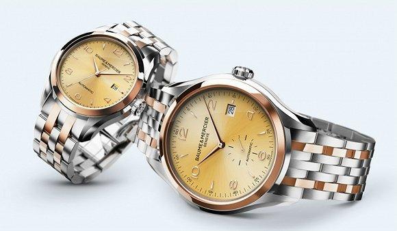 瑞士高级钟表品牌Baume & Mercier推出新年对表