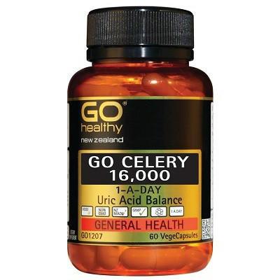 【新西兰PD折扣药房】GO Healthy 高之源 16000mg 芹菜籽精华胶囊 60粒x4 券后4瓶包邮80 6纽 ¥389