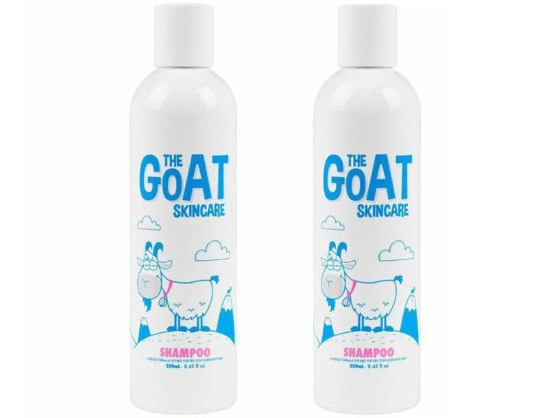 超级年货节【2件包邮装】The Goat Skincare 澳洲纯天然山羊奶保湿洗发露 2x250ml 海淘包邮价:79元