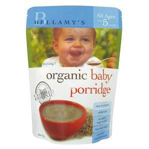 【全场满86澳免邮】Bellamy& 039s 贝拉米 婴幼儿有机粥(5个月以上)125g