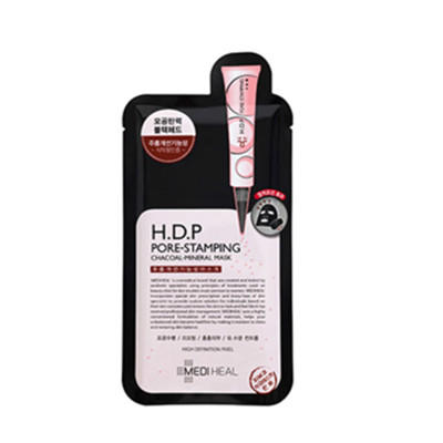 【美迪惠尔新肌美颜尾牙季】H D P毛孔收敛黑炭面膜 10片装 3件¥204 2 包邮
