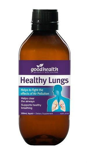 【新西兰PD折扣药房】Good Health 好健康 肺康液(防雾霾呼吸道疾病)200ml3  70 5纽 约¥346 包邮