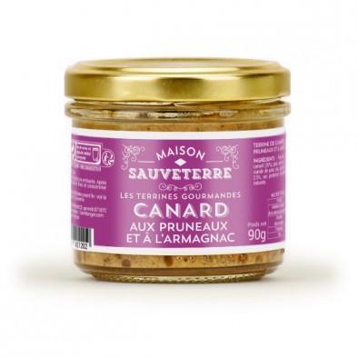 全场满50欧邮费6折 Maison Sauveterre 白兰地&amp黑布林风味 鸭肉酱 180g 满89欧再减5欧