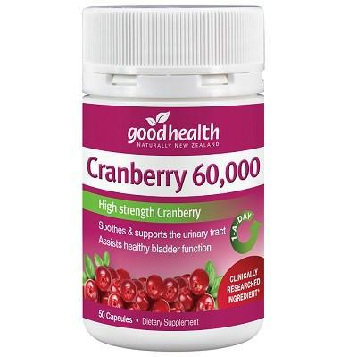 【新西兰PD折扣药房】Good Health 好健康 60000mg蔓越莓精华胶囊 50粒4 75纽 约¥368 包邮