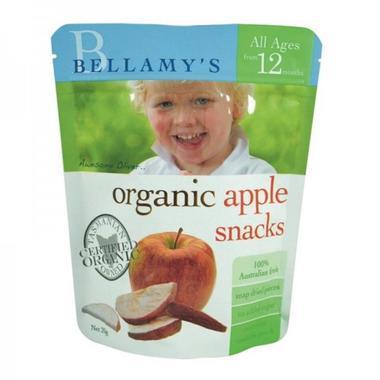 Bellamy&#039s 贝拉米 有机苹果干水果干 宝宝零食 1岁以上 20g