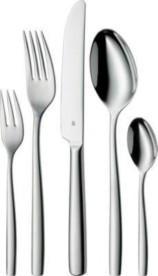 """【单件免邮】WMF 不锈钢餐具刀叉勺 30件套""""Palma""""系列  €89(约¥659)"""