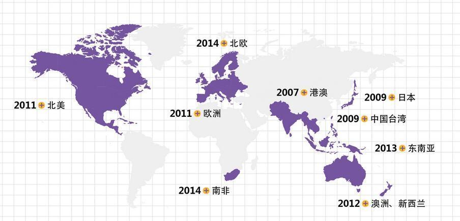 直邮海淘网站大全 最新最全的直邮海外电商网站