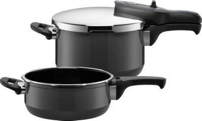 【推荐】Silit喜力特 Silargan®希拉钢 高压锅2件套 黑色  €209(约¥1547)