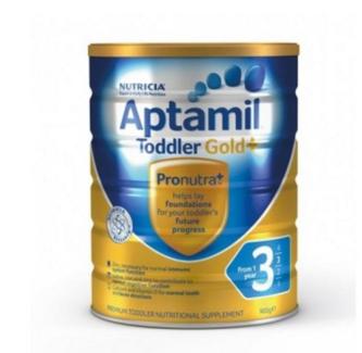 Aptamil Gold PLUS 3 澳洲爱他美金装 加强3段(1岁以上) 900g 【全场满80澳立享88折,需用码】