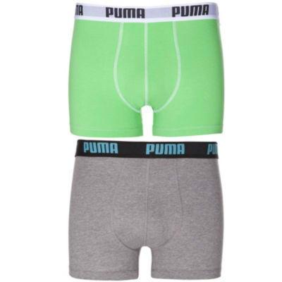 【好价满额免邮】Puma 彪马 男性四角内裤 2件装 多色可选 S号