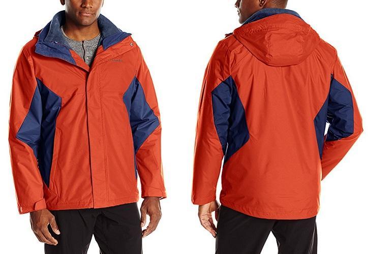 Columbia 哥伦比亚 Eager Air 男款三合一冲锋衣 $41 29(约299元)