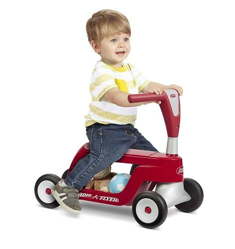 【中亚Prime会员】Radio Flyer 二合一 儿童滑板车 270元(到手价)