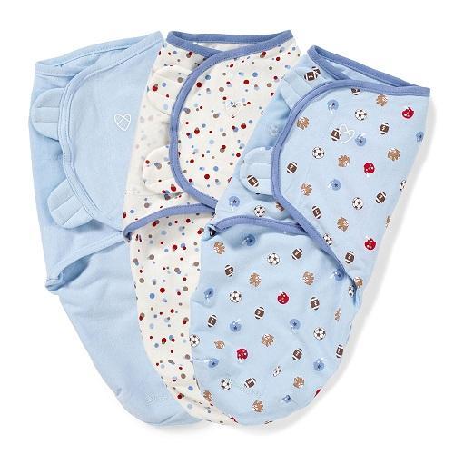 【中亚Prime会员】SwaddleMe Original 婴儿纯棉襁褓巾 3件 177元(到手价)