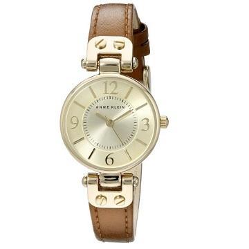 【中亚Prime会员】Anne Klein 香槟色女士时装腕表 330元(到手价)
