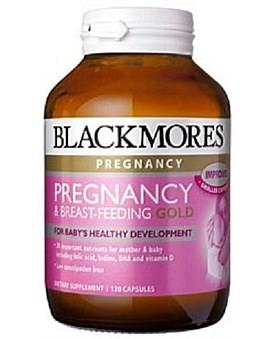 Blackmores 澳佳宝 孕期黄金营养素 120粒(备孕怀孕哺乳期必备)