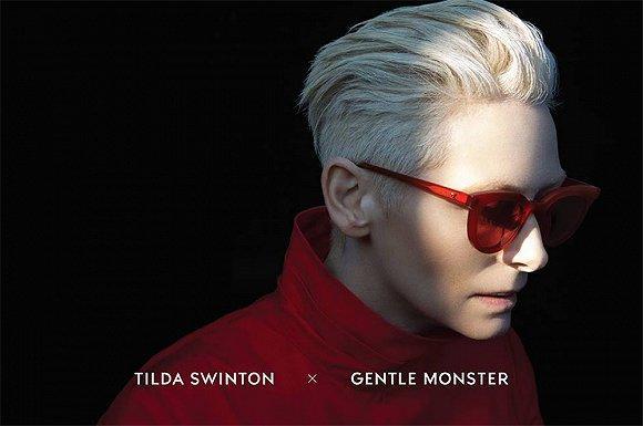Gentle Monster X Tilda Swinton眼镜系列3月1日上市发售