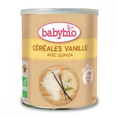 春季邮费补贴 Babybio 伴宝乐 有机婴儿辅食 香草味米粉米糊 250g 适合8个月以上的宝宝