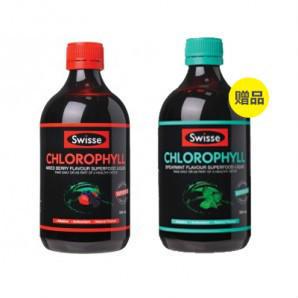 【KiwiDiscovery】Swisse 叶绿素x2(梅子味+薄荷味)500ml 24 9纽 约¥123(全场