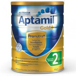 【全场免邮不限重】全网最低价!Aptamil 爱他美金装2段婴幼儿奶粉 900g ,澳洲直邮!