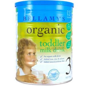 【全场运费5折】全网最低价!Bellamy& 039s 贝拉米 有机婴幼儿奶粉3段 900g  澳洲直邮!