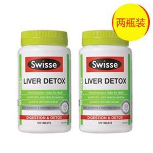 【全场运费5折】全网最低价,买1赠1!【超值特价】Swisse 强效肝脏排毒片 120片x2