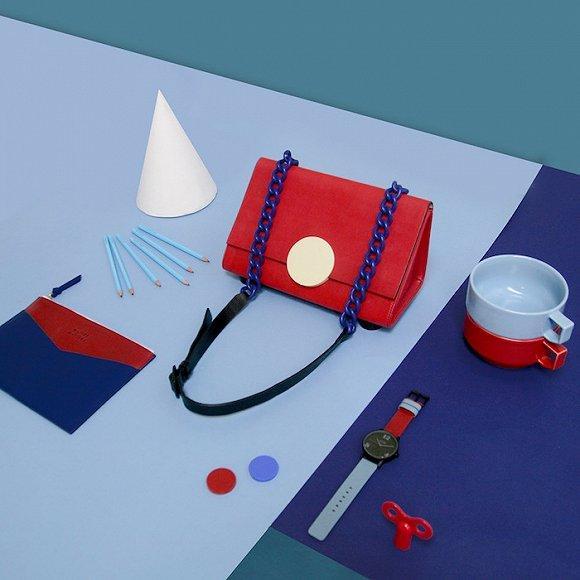 香港配饰品牌MATTER MATTERS设计采用几何元素拼接组合