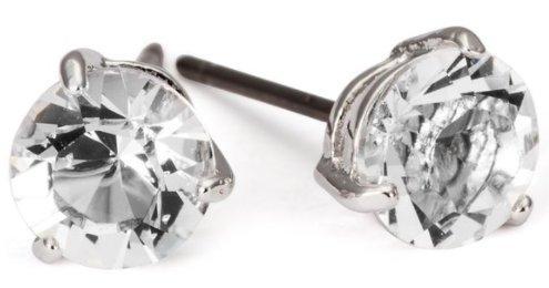 镇店之宝:Swarovski 施华洛世奇 今夜之星穿孔耳环 特价329元包邮,另有珍珠款