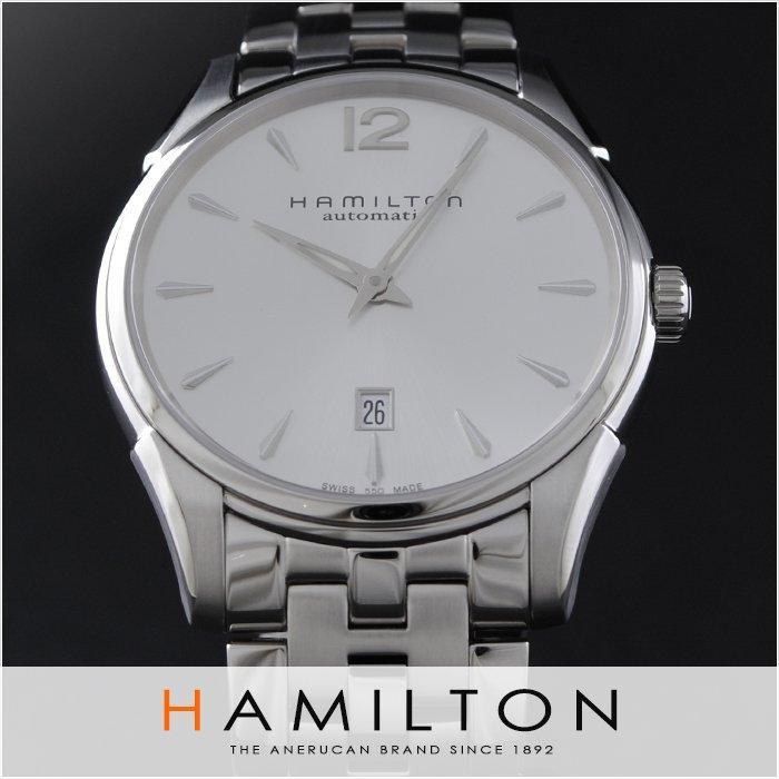 HAMILTON汉米尔顿Jazzmaster爵士系列男款机械腕表H38615155 历史低价$399 约2820元