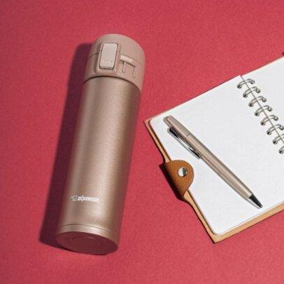 Zojirushi象印超轻不锈钢保温保冷杯SM-KC48-NM 玫瑰金 新低价2127日元 约128元
