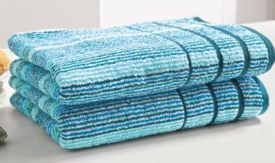 【推荐】Erwin Müller 有机全棉 线圈浴巾 2件装(多重优惠+全额税补)