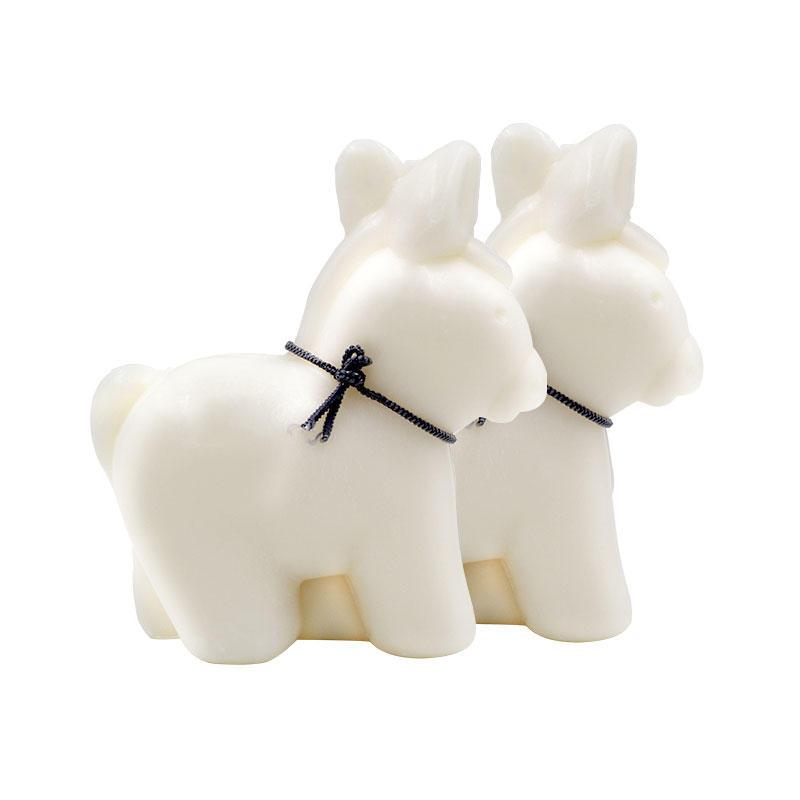 海豚村海豚村【2件包邮装】Anes&ampSens 天然驴奶皂 2150g 块(小驴子造型 自然香型)