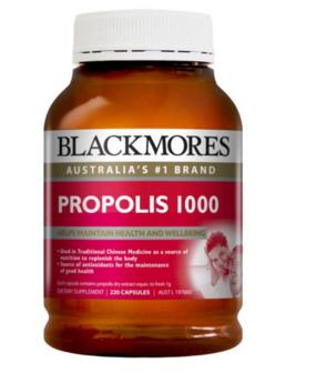 Blackmores 蜂胶软胶囊 2201000mg 粒(降压降血糖、增强免疫力)【全场满89澳免邮3kg】
