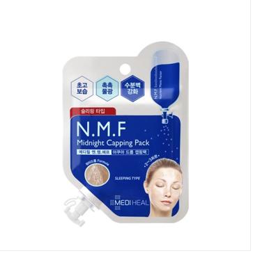 【Mediheal 宠爱3 14·白色情人节】N M F水润保湿睡眠面膜膏 5片装
