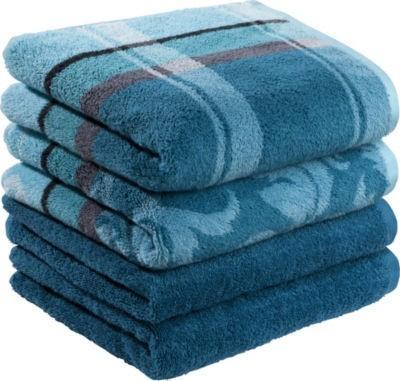 【推荐】Erwin Müller 有机全棉 毛巾套装 4件 多色可选(多重优惠+全额税补)