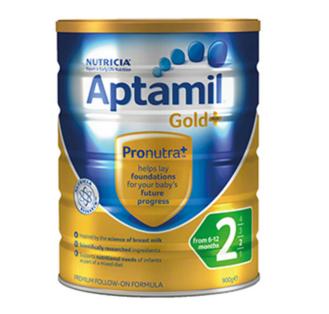 【89澳免邮+再减5澳】Aptamil 爱他美 金装二段奶粉 900g