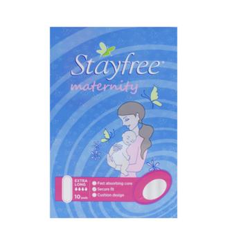 【89澳免邮+再减5澳】Stayfree 超大流量孕妇产后产褥期专用卫生巾 10片