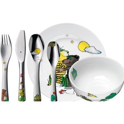 【推荐】WMF完美福 福腾宝 儿童餐具6件套 雅诺什系列(多重优惠+全额税补)